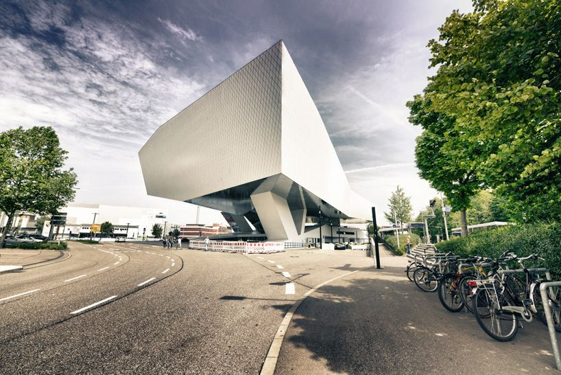 karatzas highlights the architecture of delugan meissl's porsche museum - designboom | architecture