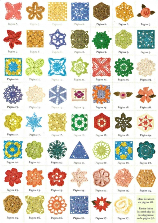 Crochet Motif Diagram Funkycrochet New Crush Rustic Lace Square Diagrams Squares Pinterest 1020x1440
