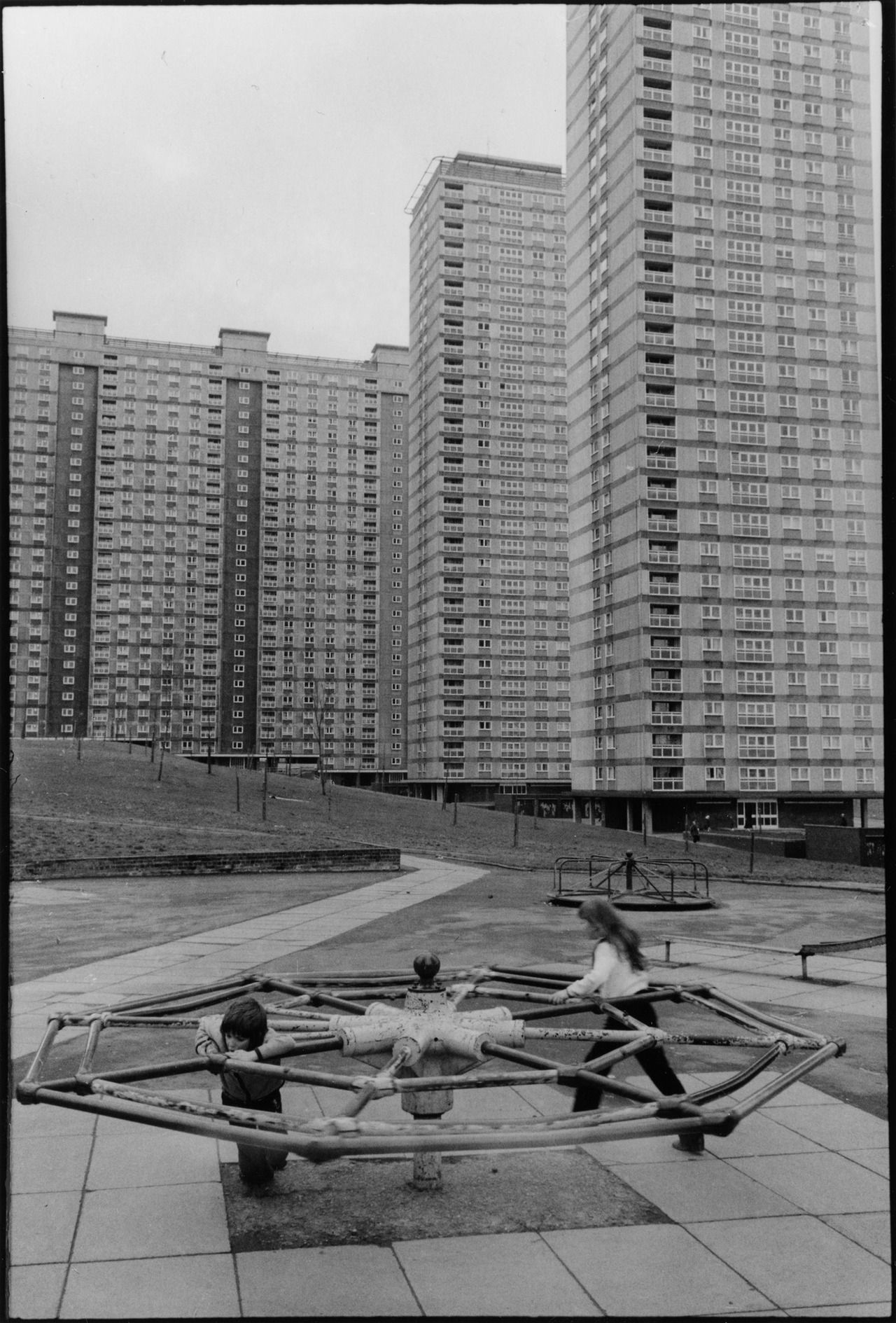 Larry Herman's Red Road Flats, Glasgow (via here