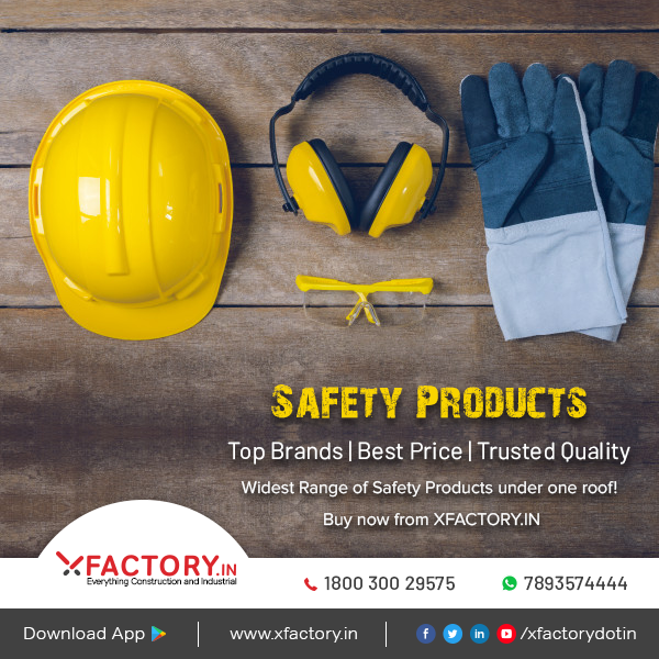 Now buy wide range of Safety products from all top brands