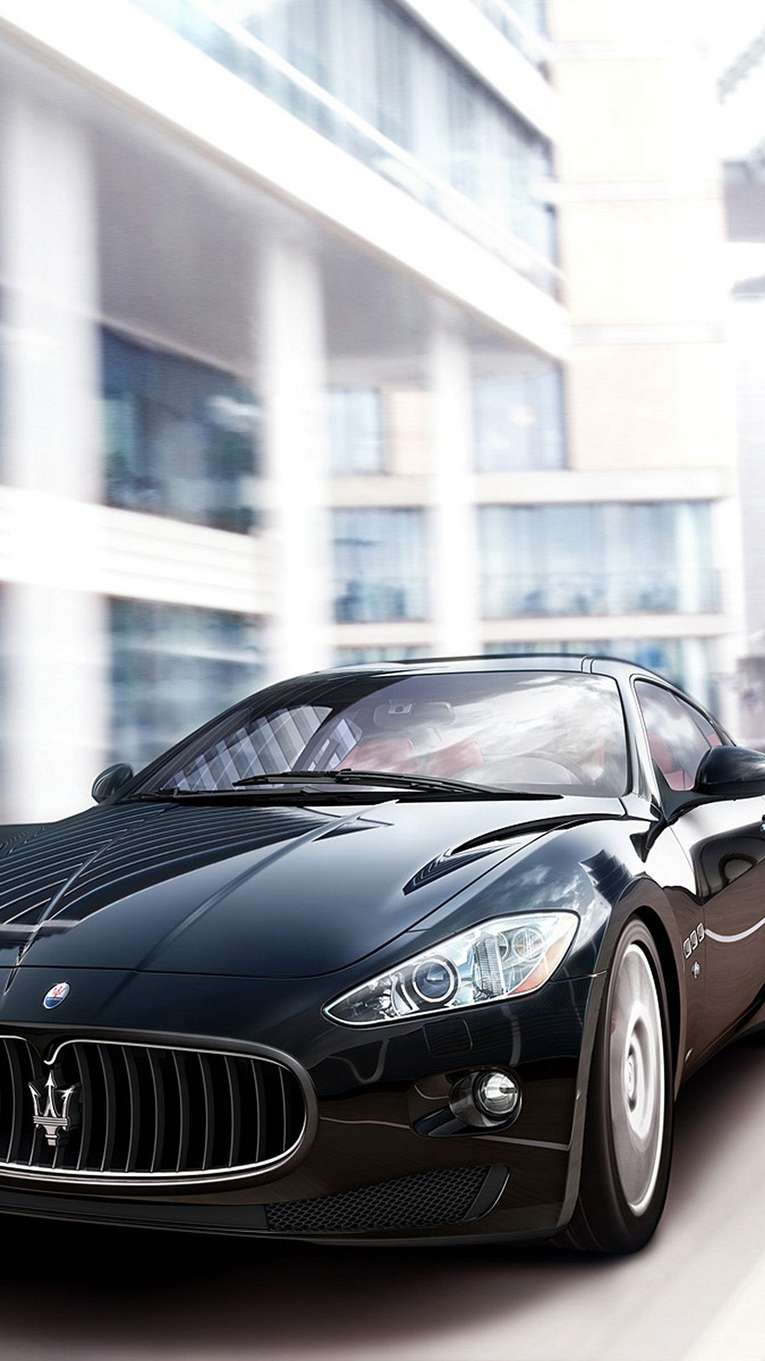 Maserati Granturismo S Black Best htc one wallpapers