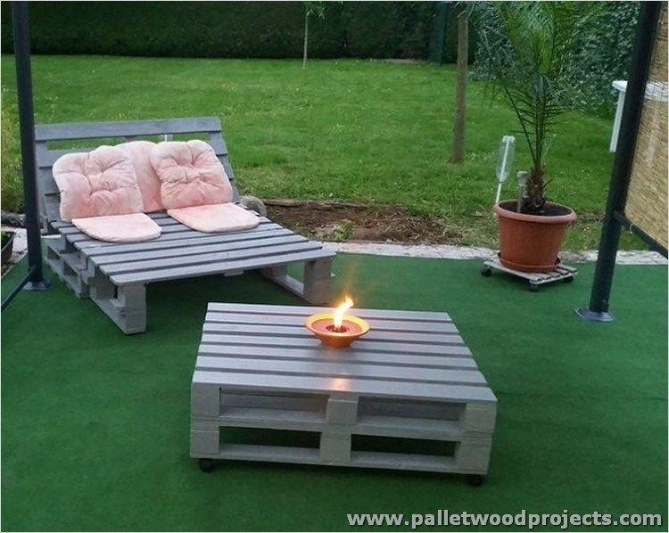 40 Diy Ideas Outdoor Furniture Made From Pallets 27 Pallet Garden