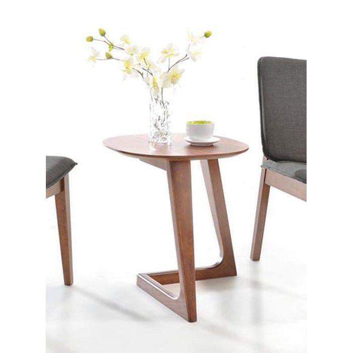 VIG Furniture VGMAMIT 1096 2 END Modrest Jett End Table in Walnut