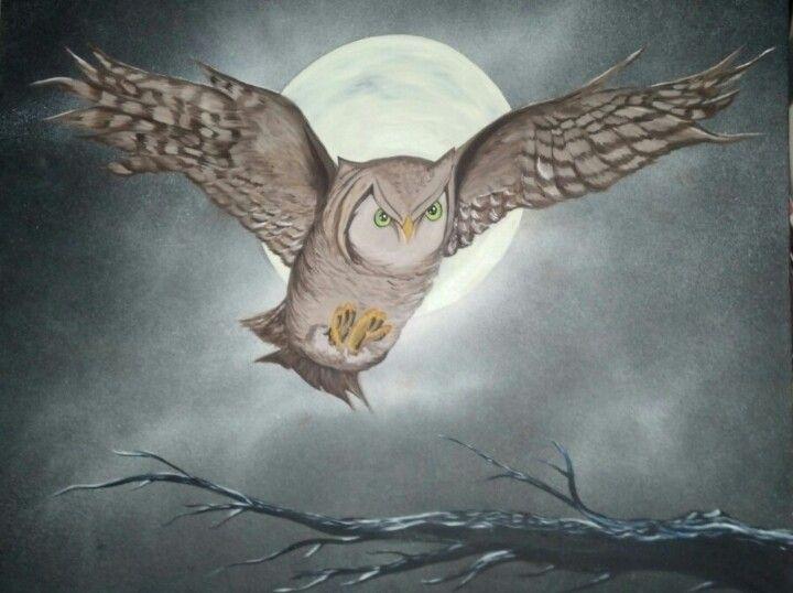 Mystical night hoots