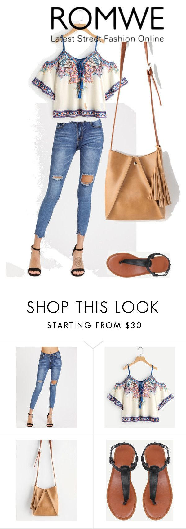 """""""# romwe"""" by jeezel ❤ liked on Polyvore"""