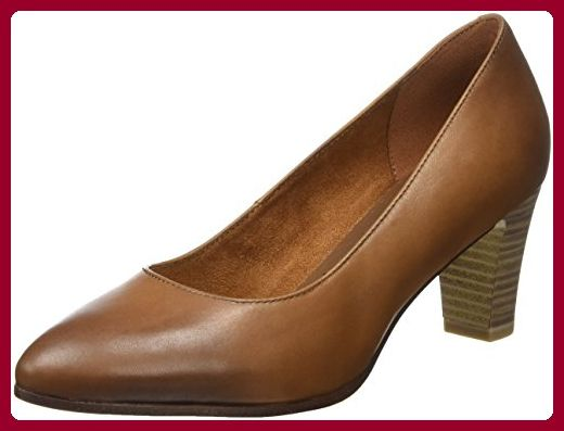 Tamaris Damen 22422 Pumps, Braun (Cognac), 39 EU Damen