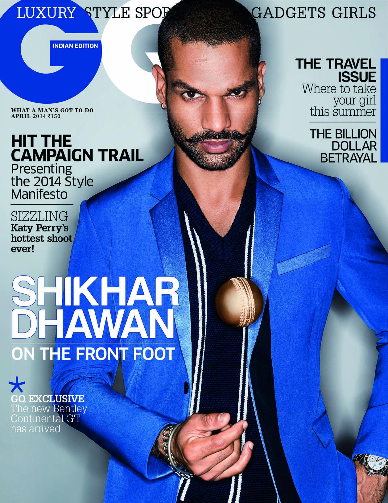 ★נя§Ήά∂™★ Gq, Mens fashion magazine, Shikhar dhawan