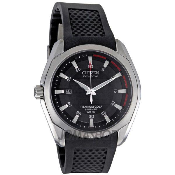 citizen titanium golf eco drive men s watch watches golf and citizen titanium golf eco drive men s watch