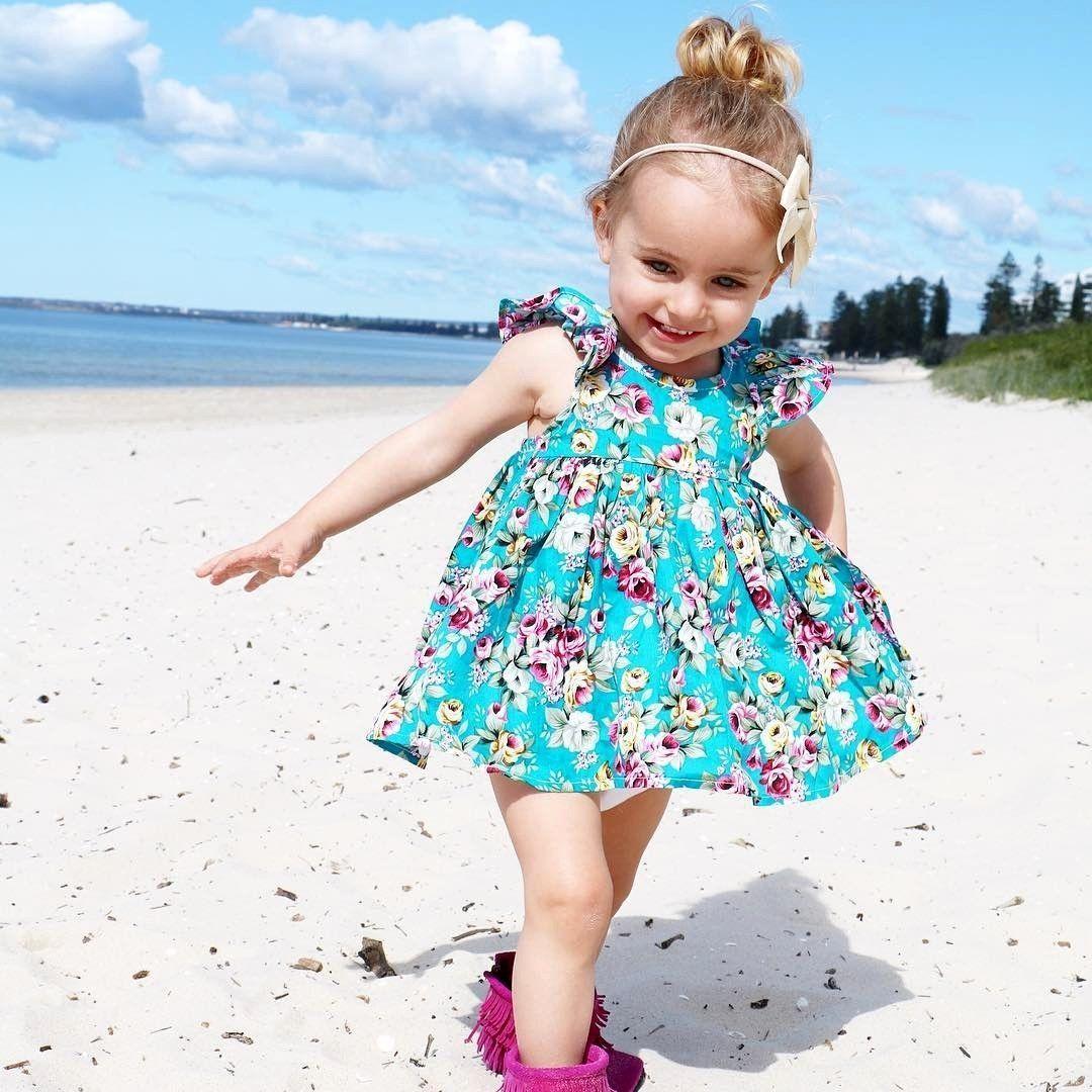 Floral beach dress girl outfits floral beach dresses