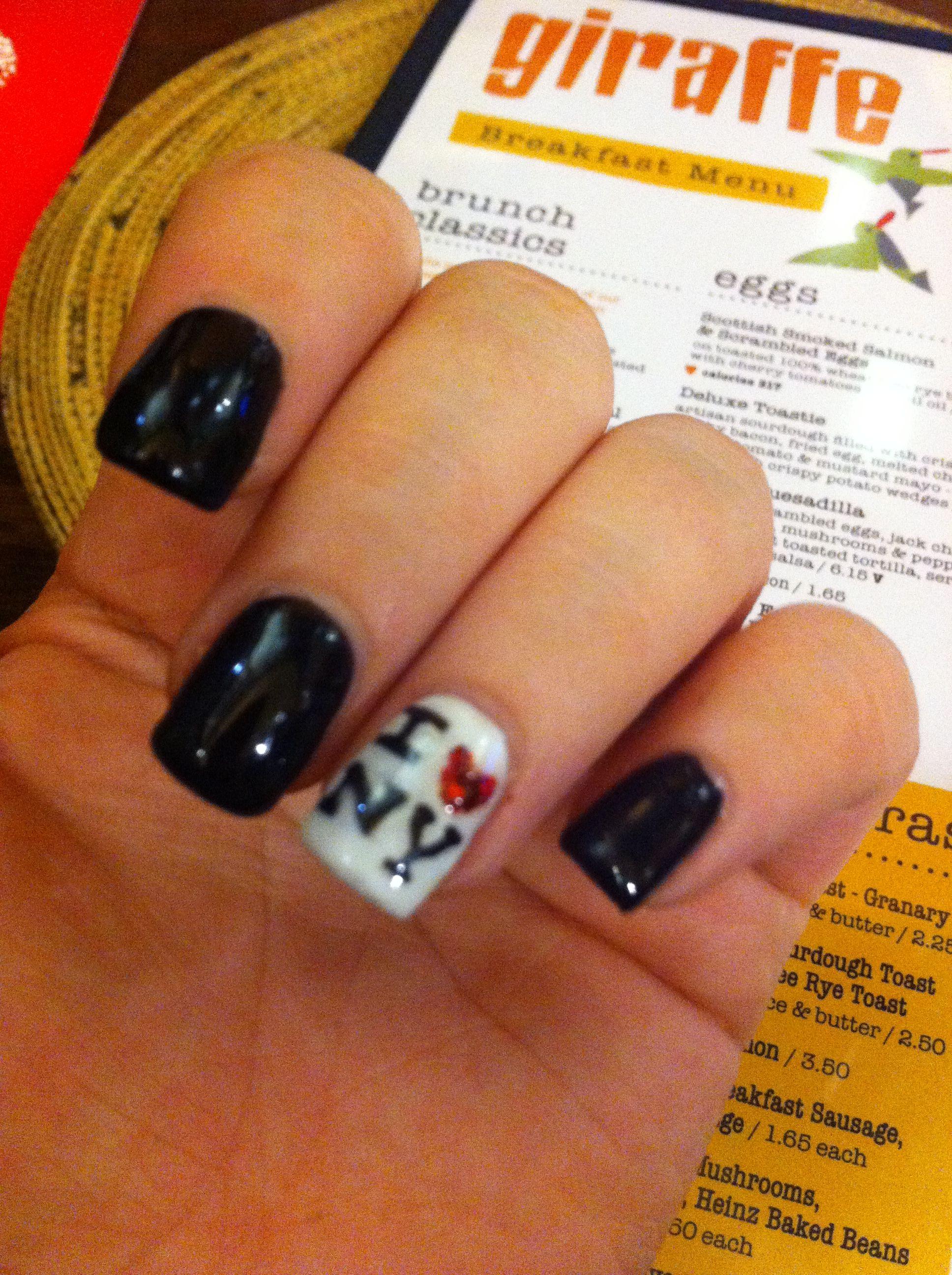 New York nails!! NYC bio sculpture gel nails!   Nails   Pinterest ...