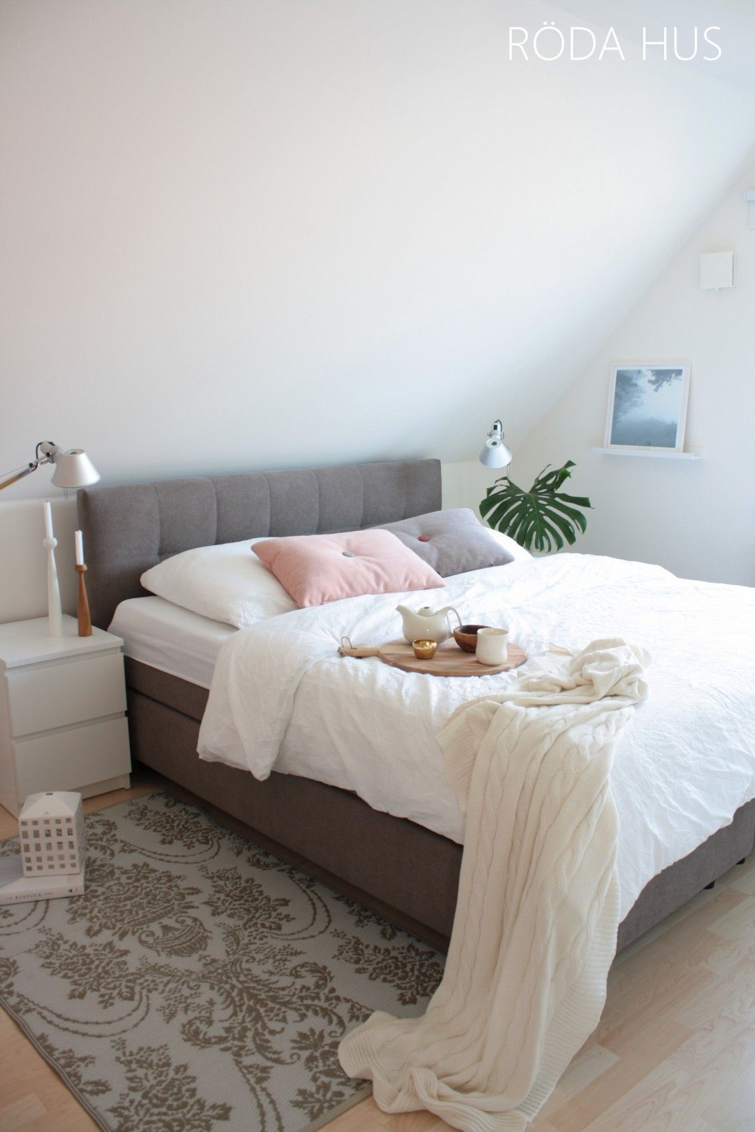 Schlafzimmer Boxspringbett Boxsping Bed Bedroom With Images