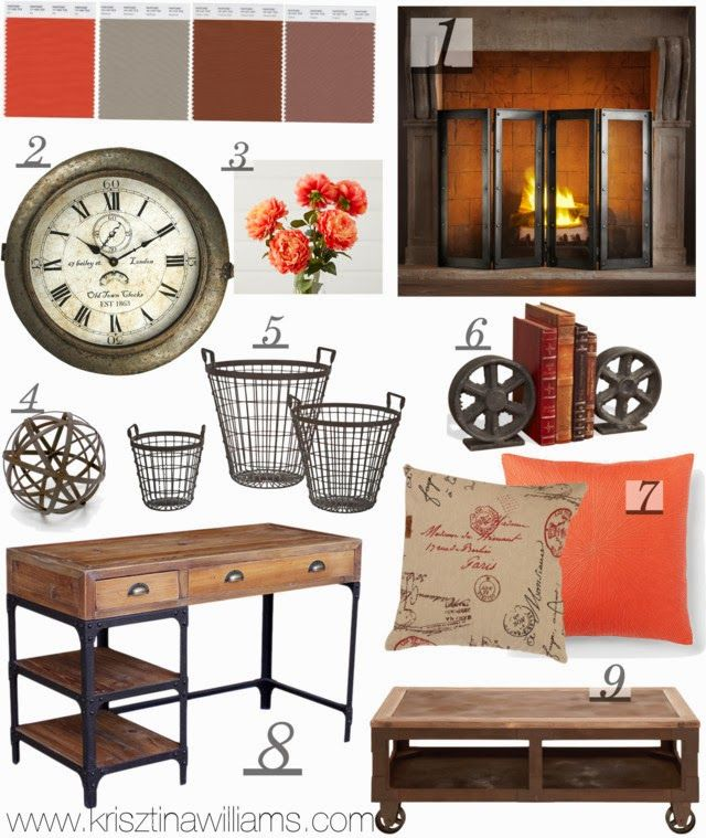 Industrial House Design And Decor For Stylish Appearance: Get The Look: Rustic Industrial Home Decor
