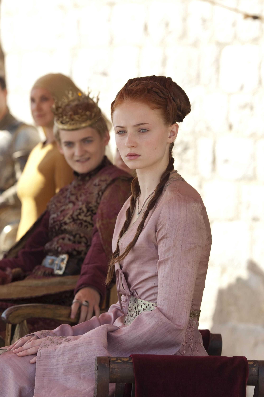 GoT King Joffrey and Sansa Sansa, Game of thrones