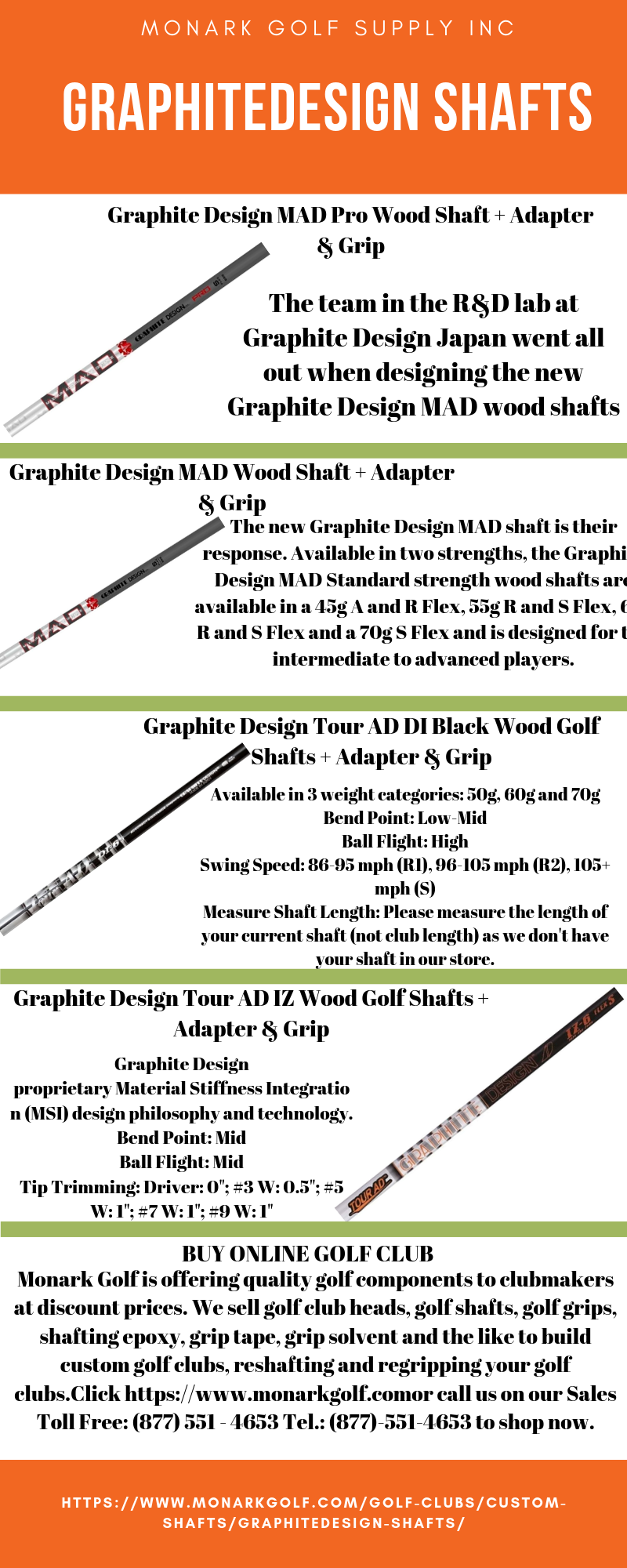 Graphitedesign Shafts Buy Golf Clubs Golf Club Sets R D Lab