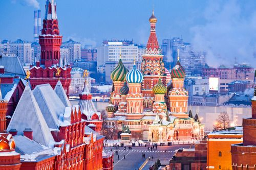 St. Basil's Cathedral, Kremlin, Red Square, Moscow