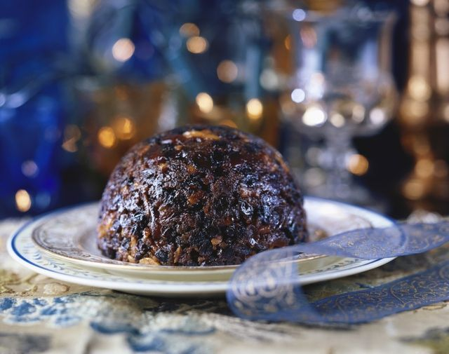 Christmas Pudding On Fire.The Best Christmas Pudding