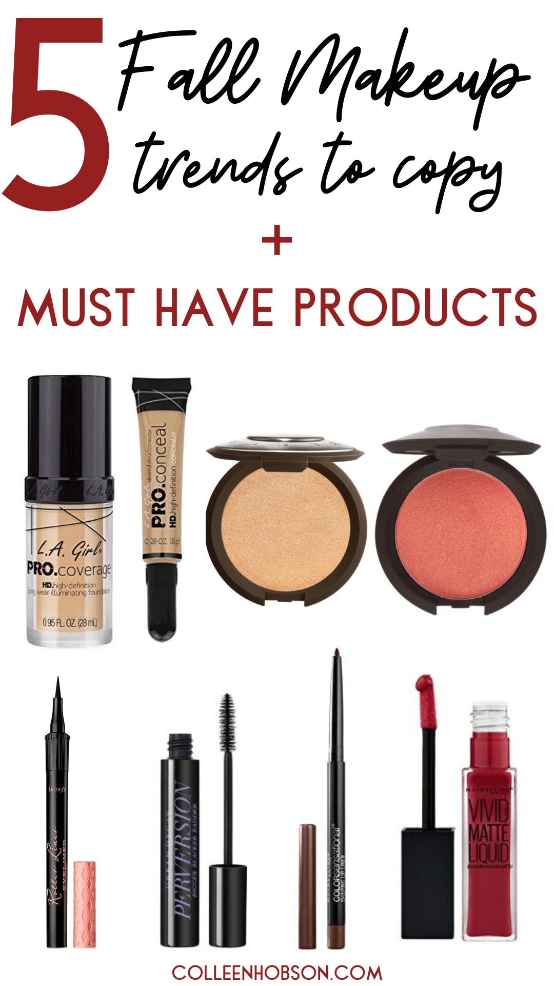 5 Fall Makeup Trends + Must Haves To Try This Season