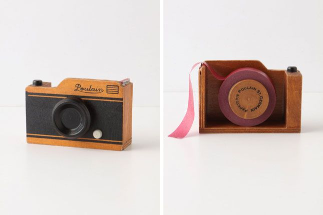 Vintage Camera Tape Dispenser | 20 Tape Products