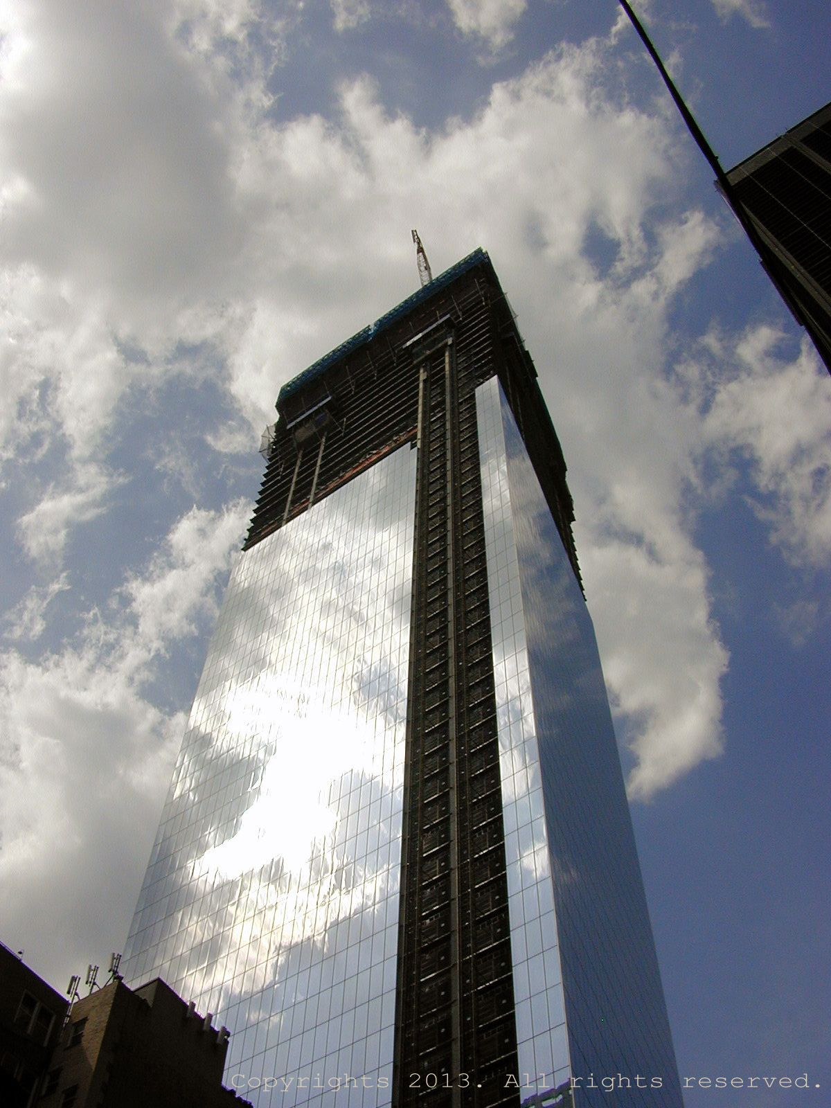 Freedom tower under construction. (With images)   Under ...