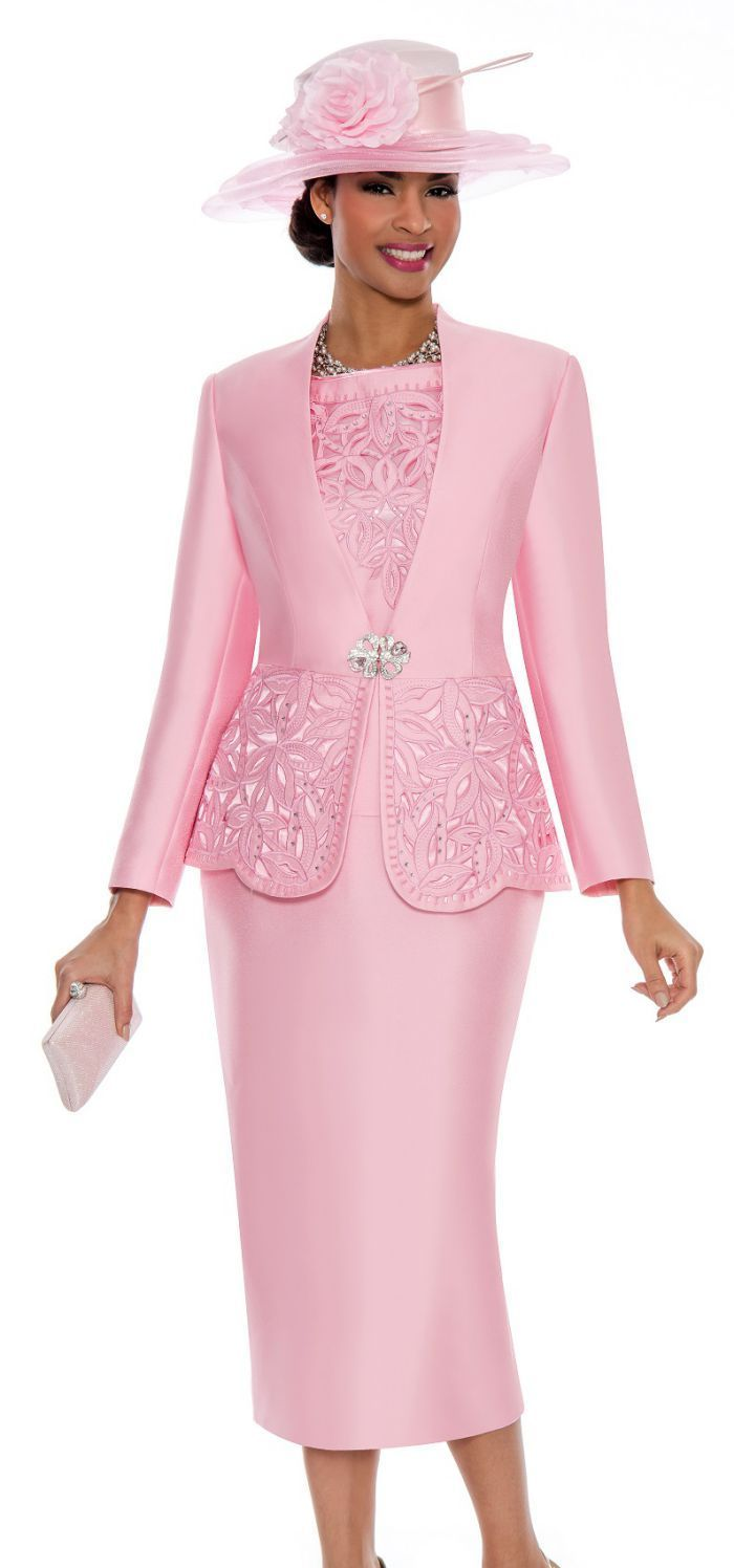 05e0cf24c38 Church Suit 1018-Pink - Church Suits For Less