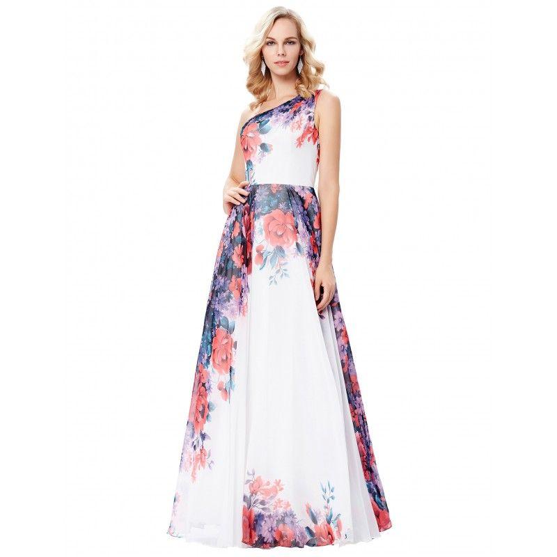 Kvetované spoločenské šaty GK000134  9535ed5270b