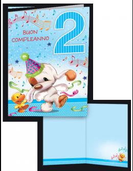 Tanta Musica Per Festeggiare I Tuoi 2 Anni Auguri Di Compleanno Biglietti Di Compleanno Compleanno