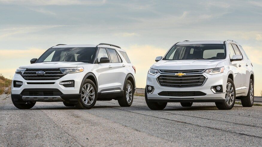 Traverse Vs Explorer Which American 3 Row Is Best In 2020