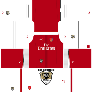 Custom Dream League Soccer Kits Arsenal1 1617 Dls16 Futbol Vector Futbol Vector