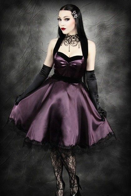 How To Choose A Gothic Prom Dress | Pinterest | Gothic, Prom and ...