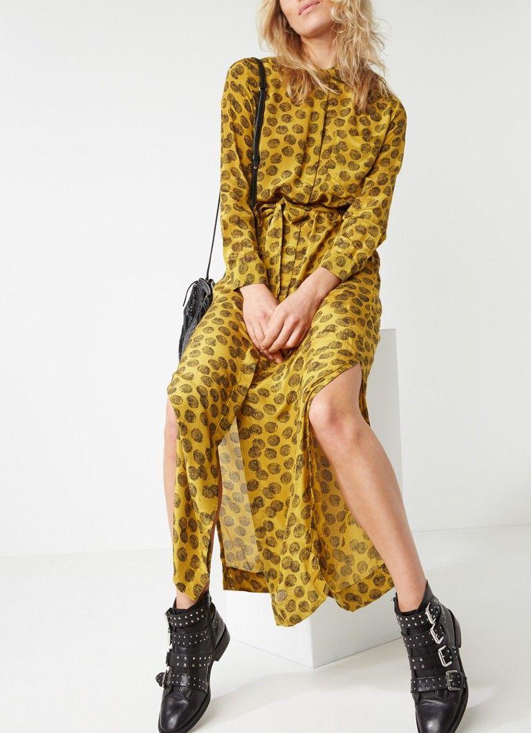 93c77a5bca7827 Op zoek naar Sissy-Boy Jaras lange blousejurk met stippendessin   Ma ...