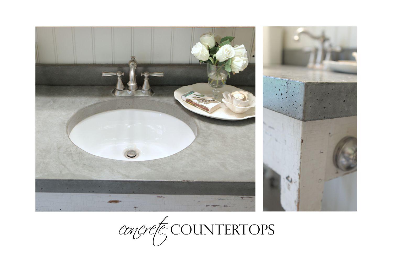Concrete Counter Top » JosieJones & Company | DIY Projects ...