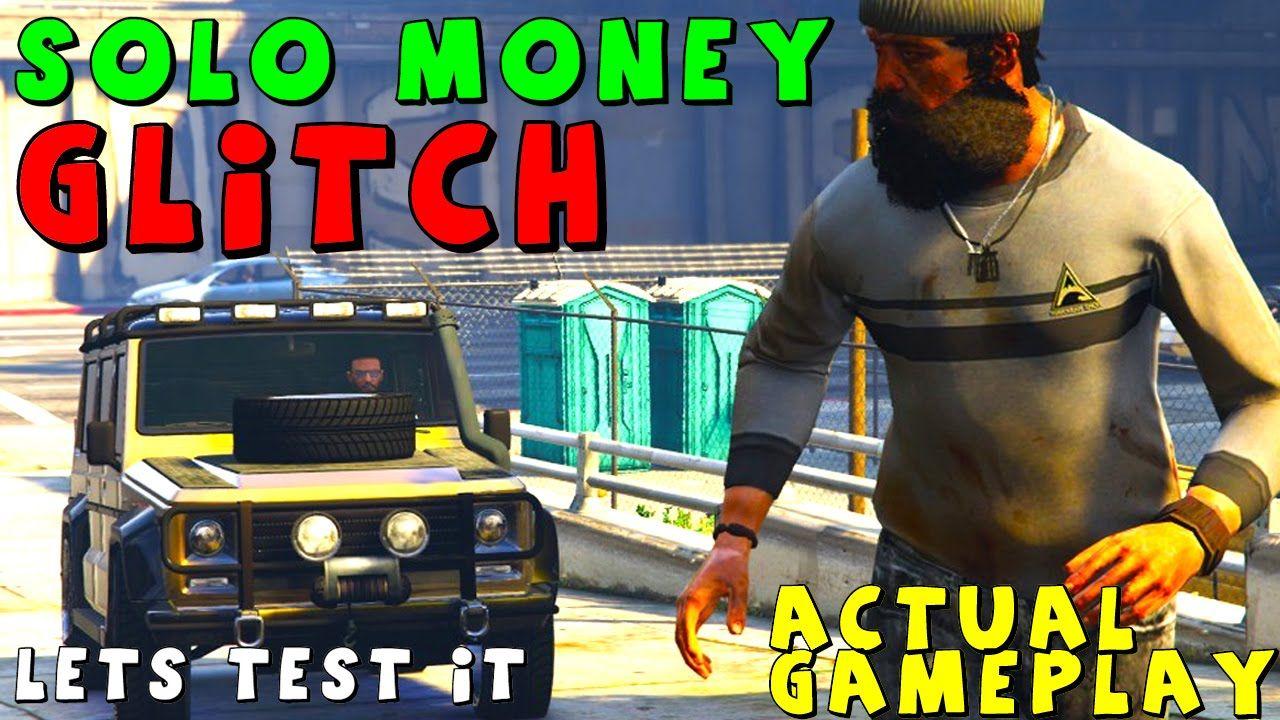 "GTA 5 Online ""SOLO MONEY GLITCH"" 1.31/1.29 Unlimited"