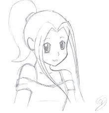 Image result for how to draw anime face step by step