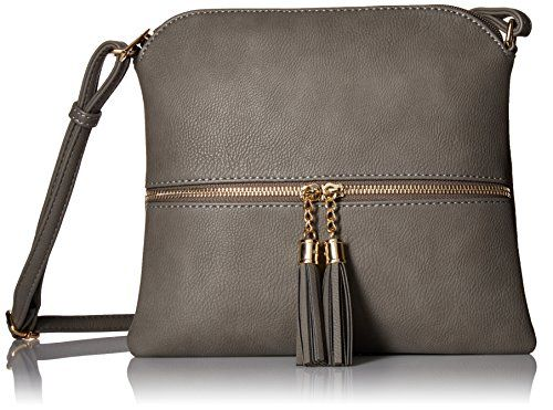 abe99d92fc84 Small Crossbody Purse for Women with Double Compartment