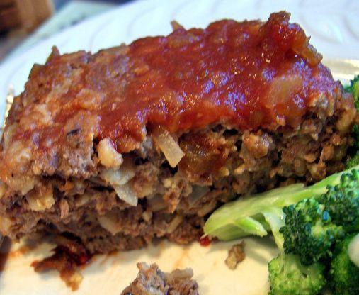Easy 1lb Meatloaf Recipe Food Com Recipe 1lb Meatloaf Recipe Recipes Meat Loaf Recipe Easy