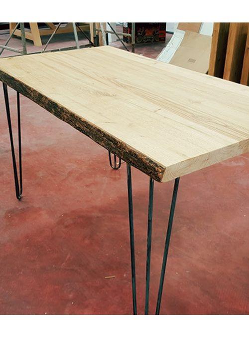 Tavolo in legno massello di castagno | Acquista tavolo da cucina in ...