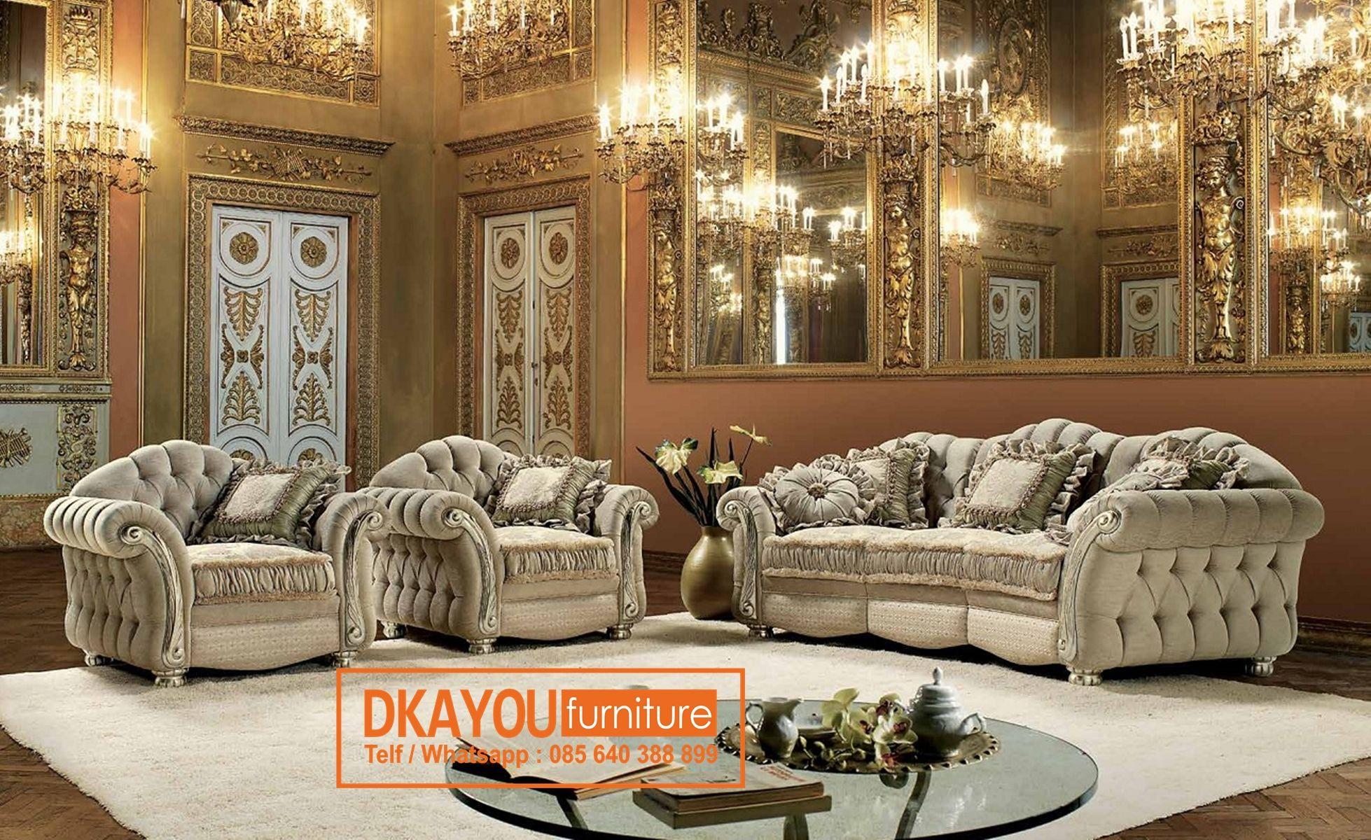 Ruang Tamu Mewah Klasik Modern Dekorasi Rumah Ruang tamu mewah klasik