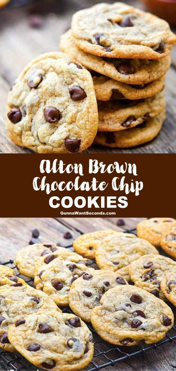 NEW When youre ready for the ultimate in soft chewy chocolate chip cookies Alton Brown chocolate NEW When youre ready for the ultimate in soft chewy chocolate chip cookie...