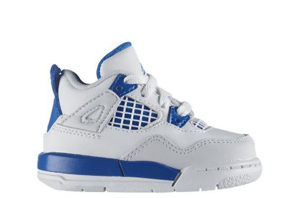 online store bf986 70729 Military Blue 4s | Baby Jordan Sneakers | Baby boy shoes ...