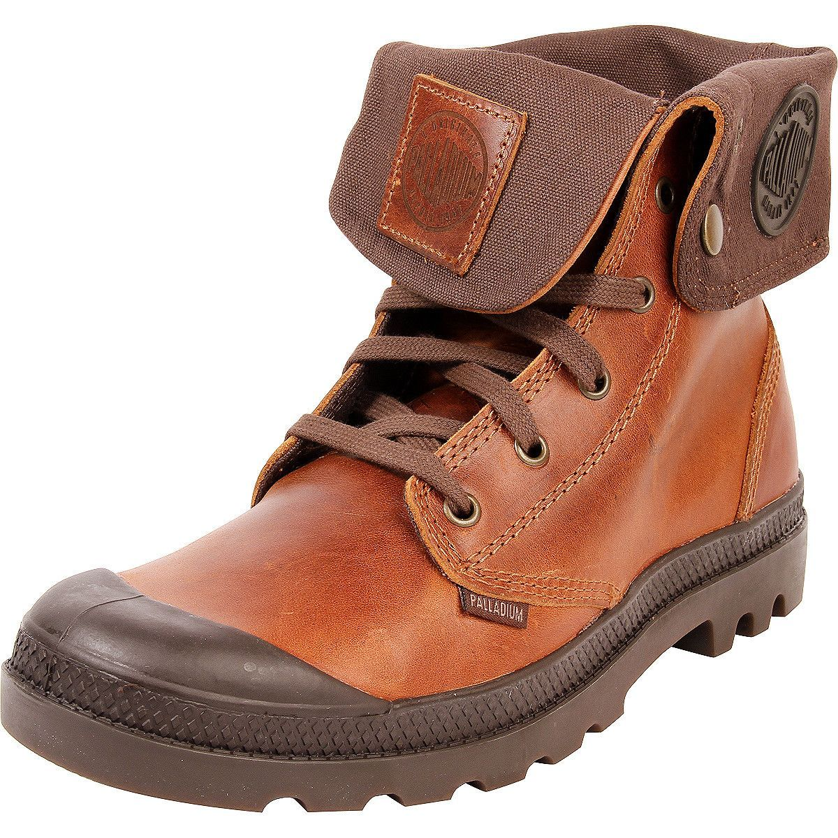 483f0b33a7a Palladium - Men's Baggy Leather Boots - Sunrise/Chocolate | Dapper ...