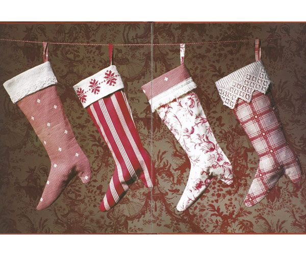 Victorian Style Christmas Stockings