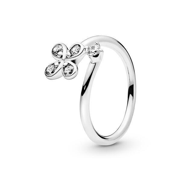 anello pandora fiore viola