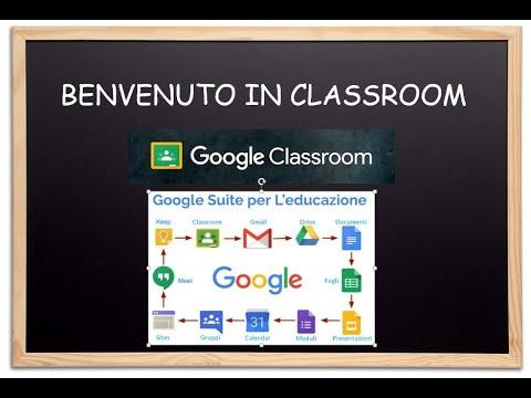 68 1 Primo Accesso A G Suite For Education Per Docenti Youtube Nel 2020 Google Classroom Lezioni Di Informatica Istruzione Elementare
