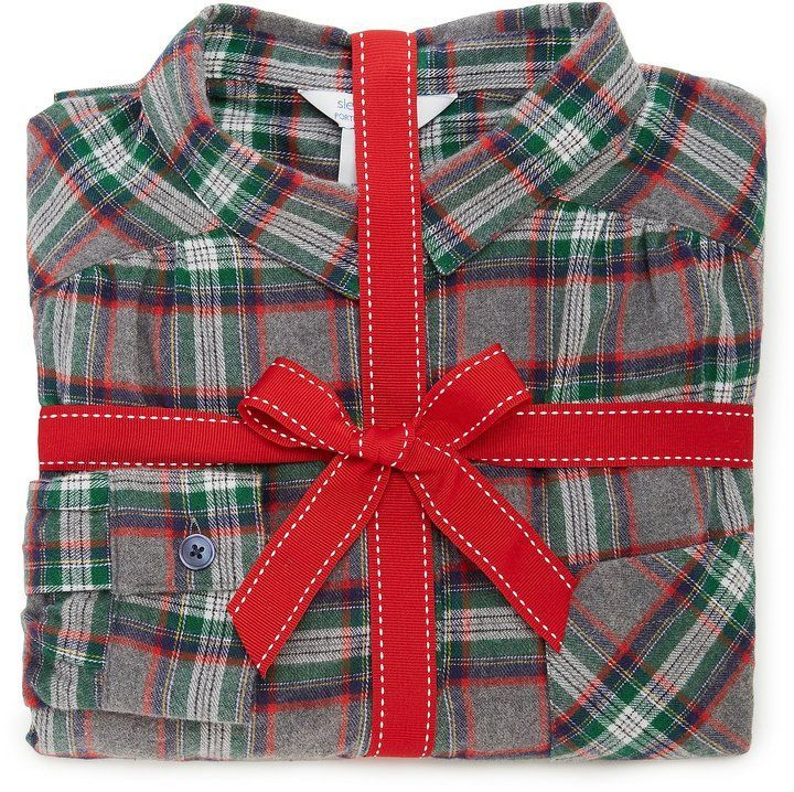 Sleep Sense Austin Plaid Flannel Pajamas  1f16c88a3