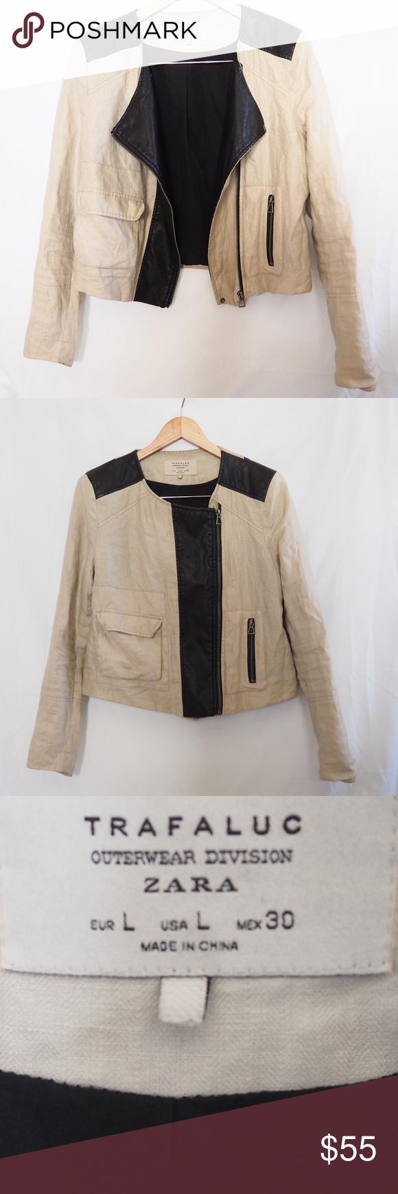 Zara Trafaluc Moto Jacket Jackets Moto Jacket Zara [ 1740 x 580 Pixel ]