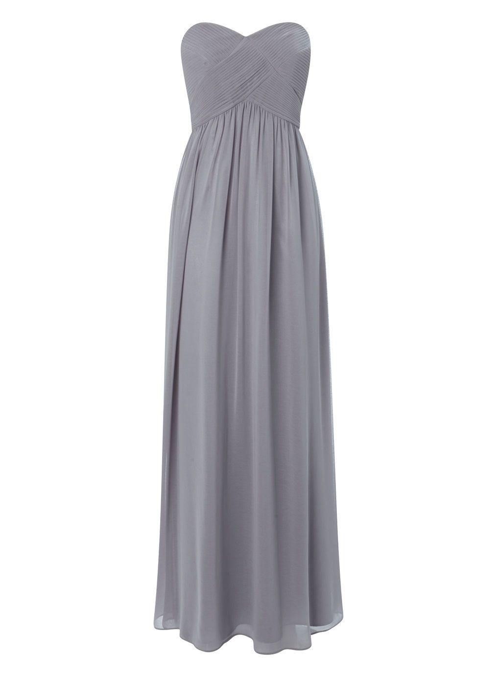 Pewter darcy long bridesmaid dress staceyus wedding pinterest