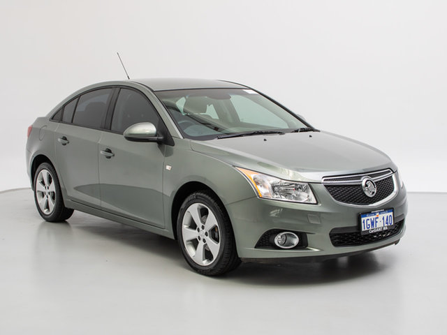 2014 Holden Cruze JH MY14 Equipe Green 6 Speed Automatic