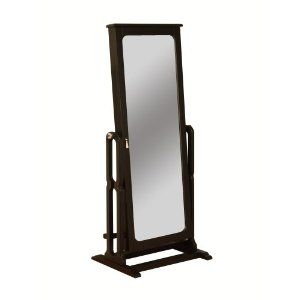 full-length mirror with jewelry wardrobe..juuuust what I've been looking for. :)