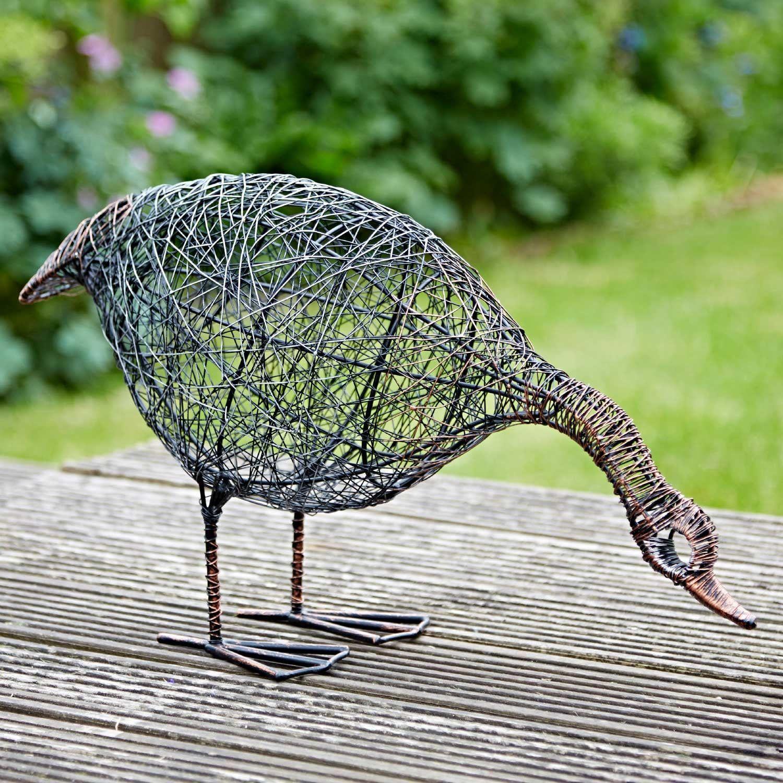 Handmade Welded Bird Scrap metal Duck Made To Order