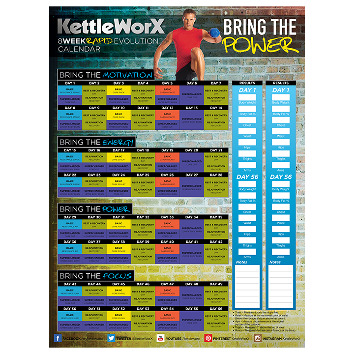 Kettleworx Schedule Workouts Pinterest Exercises